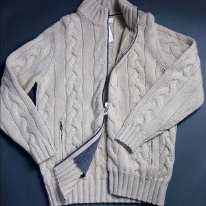 NWT 5500 Brunello Cucinelli 12ply Cashmere Sweater